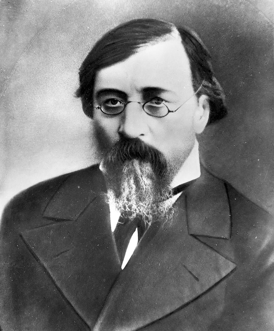Chernyshevsky as seen in a 1888 photo.