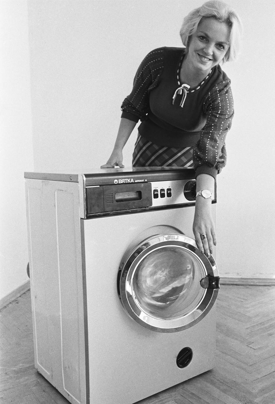 Waschmaschine Wjatka-Awtomat, 1978.