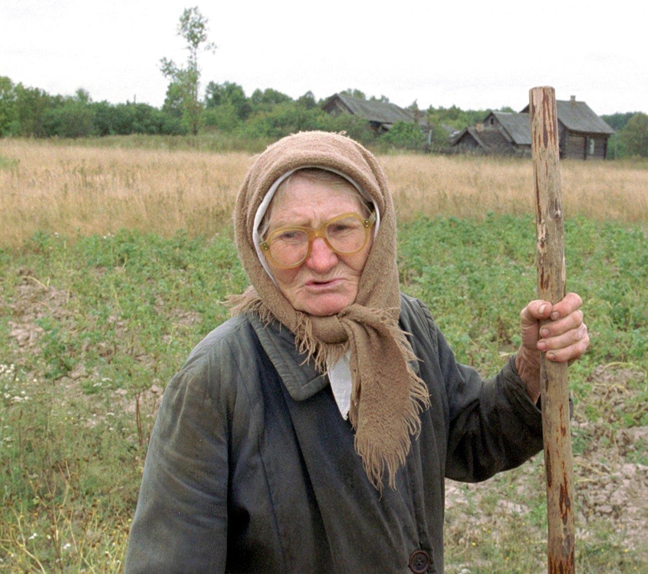 Prebivalka vasi Galkino trideset let po nesreči
