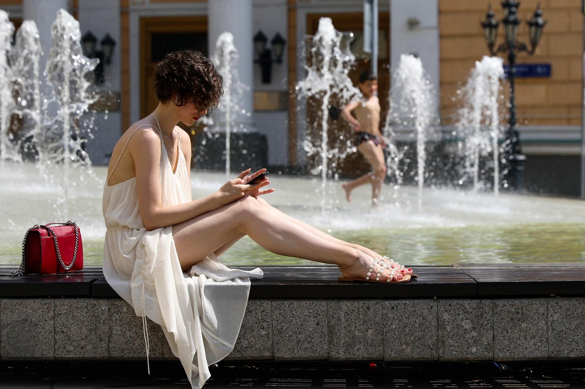 """Москва, 23 јуни 2021, плоштад """"Биржеваја"""""""