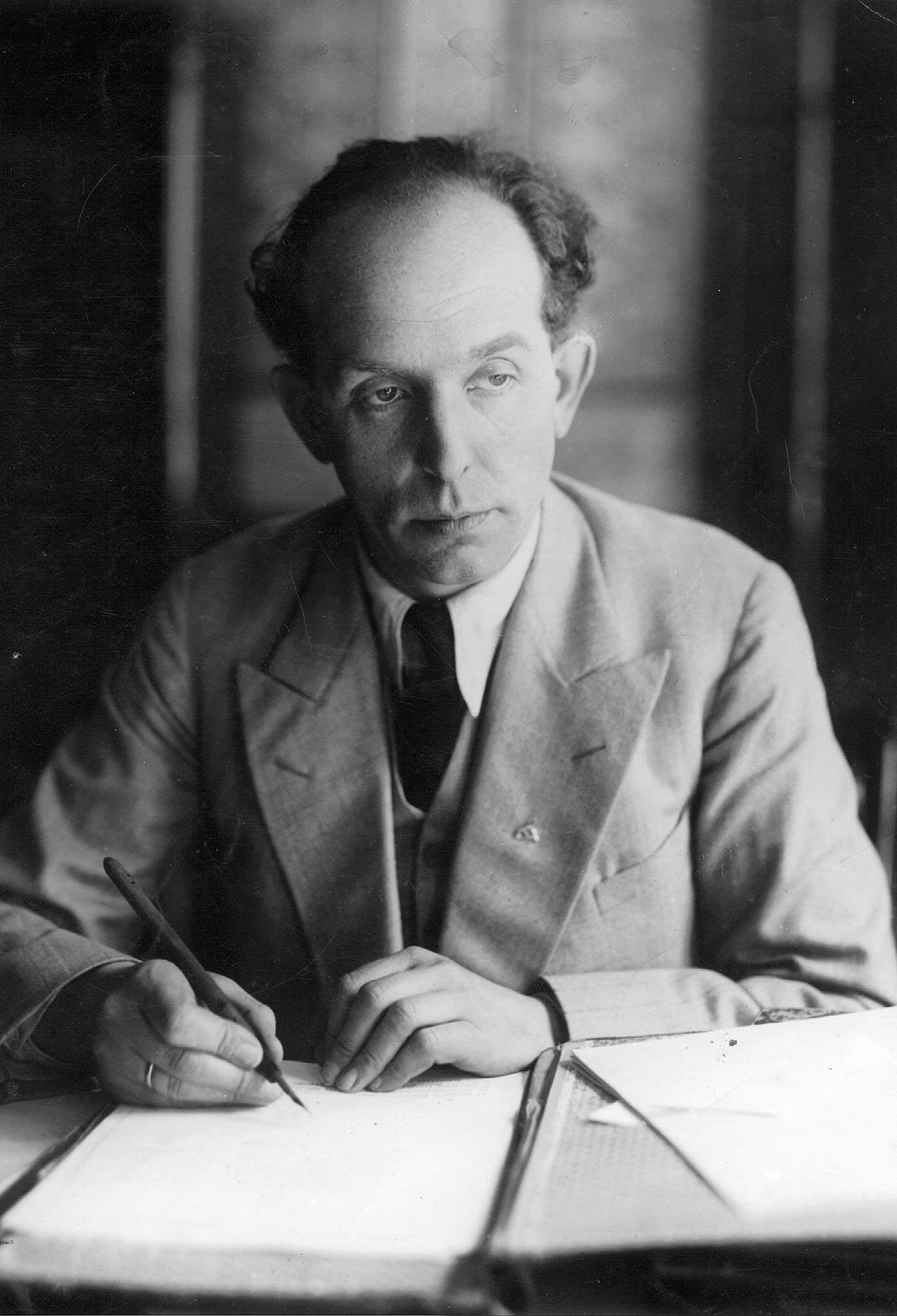 Роланд Фрајслер, 1933 година.
