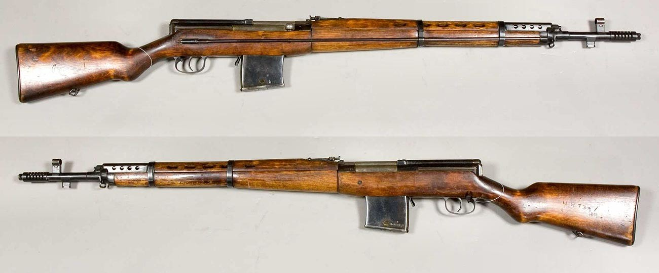 Полуаутоматска пушка Токарева