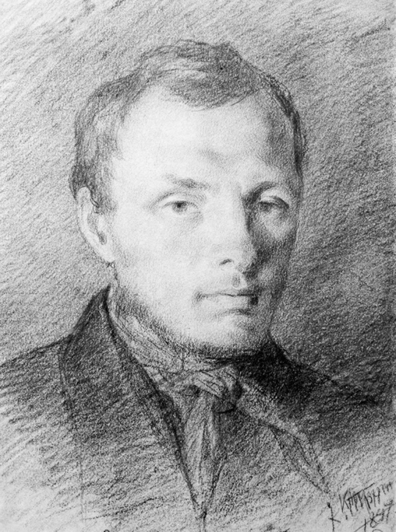 Portrait of Fyodor Mikhailovich Dostoevsky