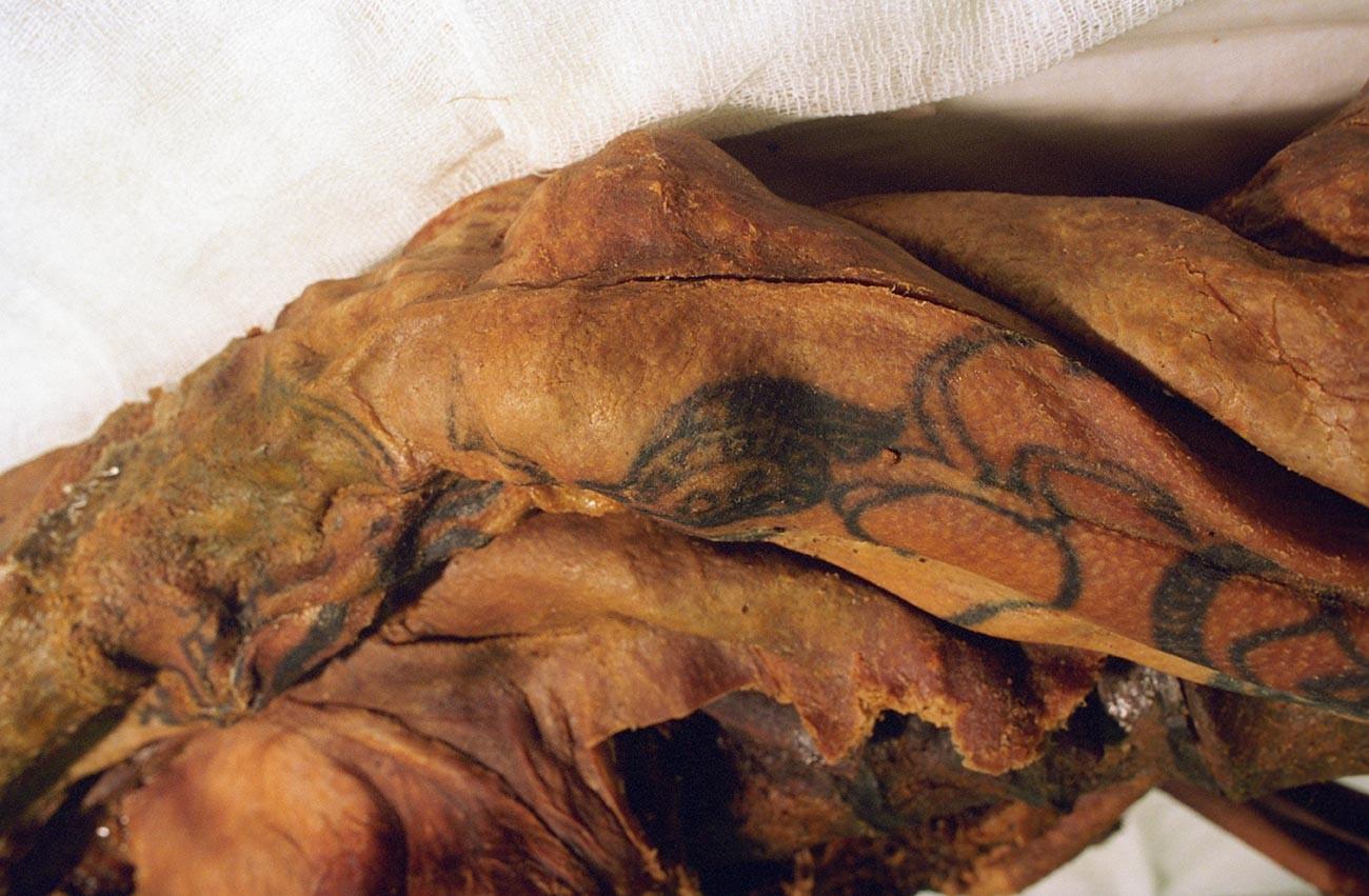「ウコク高原の姫」の遺体