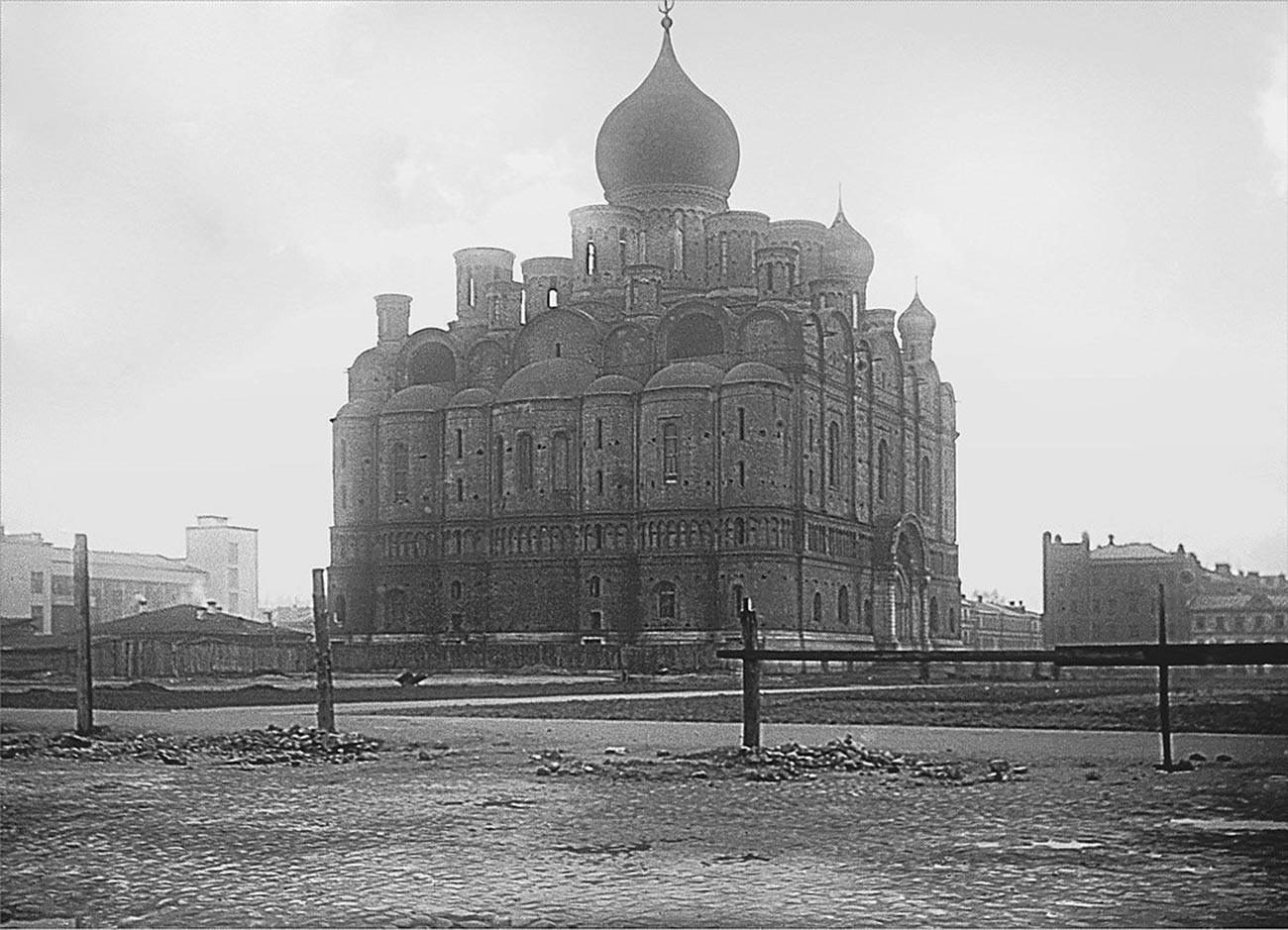 Catedral Aleksandr Nevsky em 1921