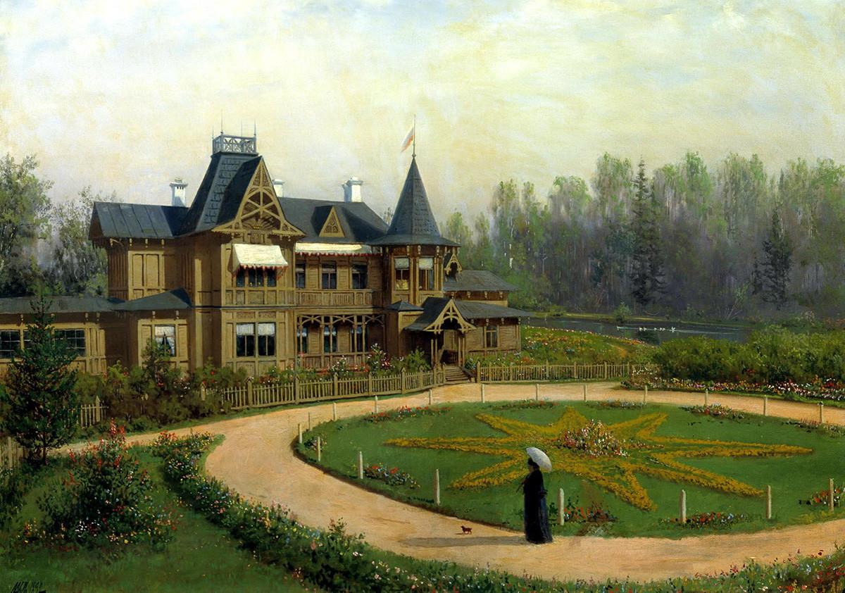 Lev Lagorio. Datcha, 1892