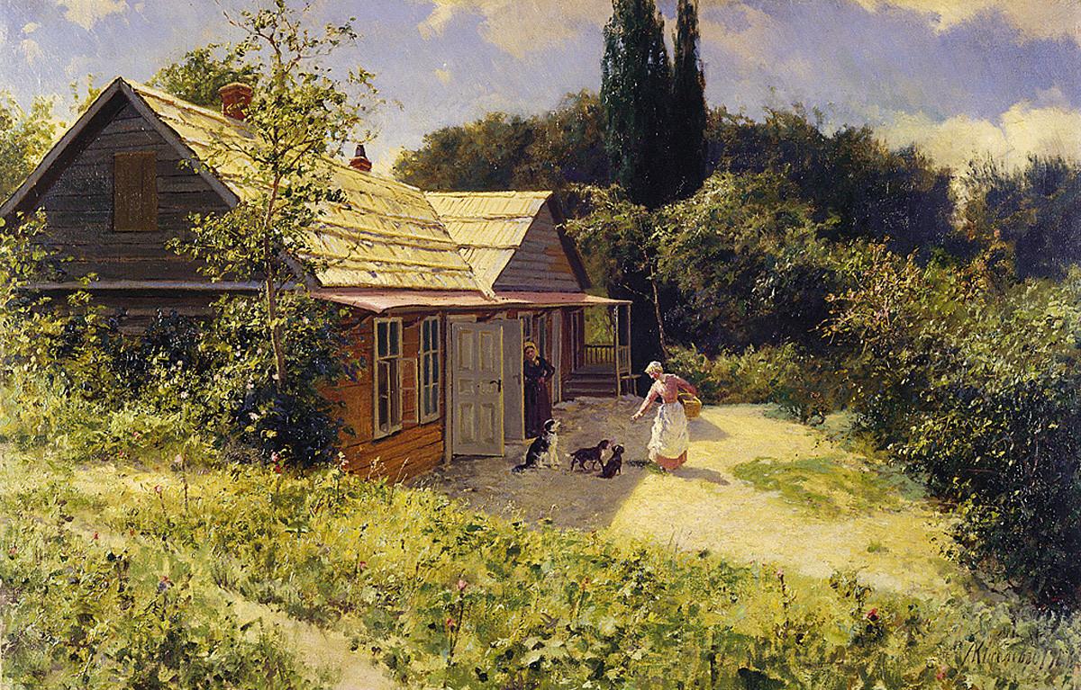 Aleksandre Kisseliov. Dacha en Crimée, 1906