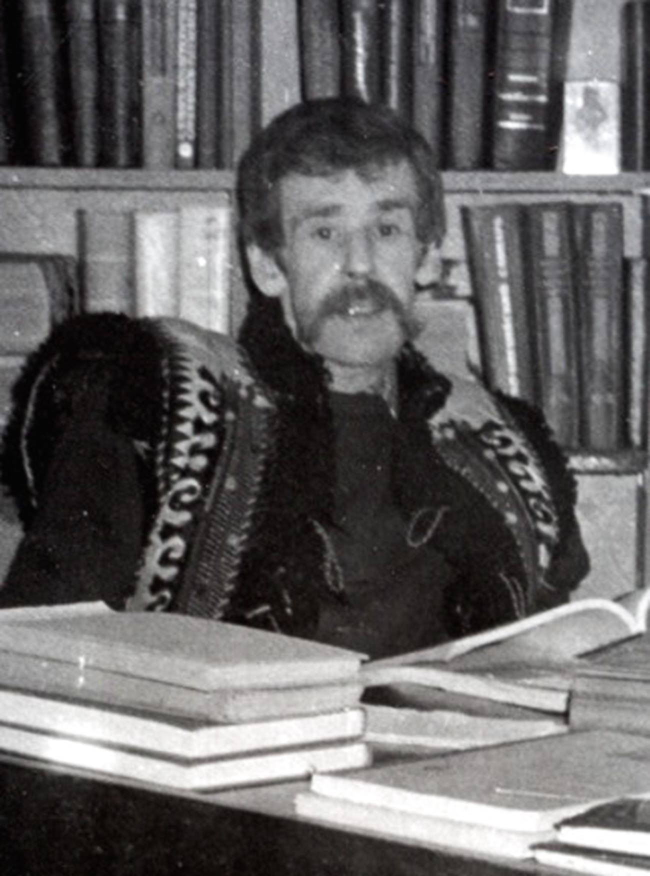 El traductor soviético Andréi Kistiakovski