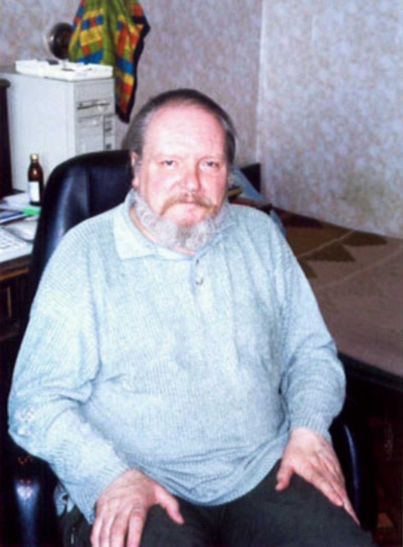El traductor soviético Vladímir Muraviov.