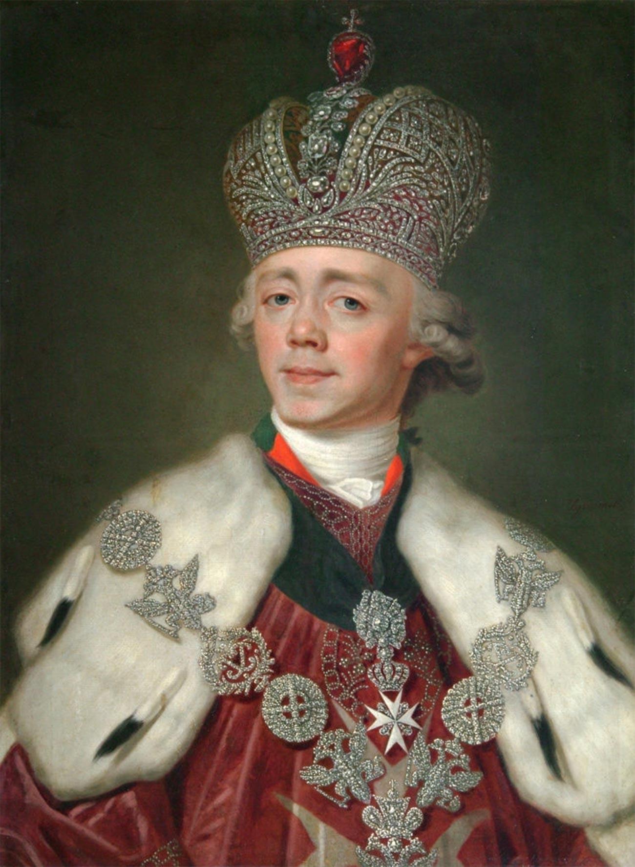 L'imperatore Paolo I di Russia