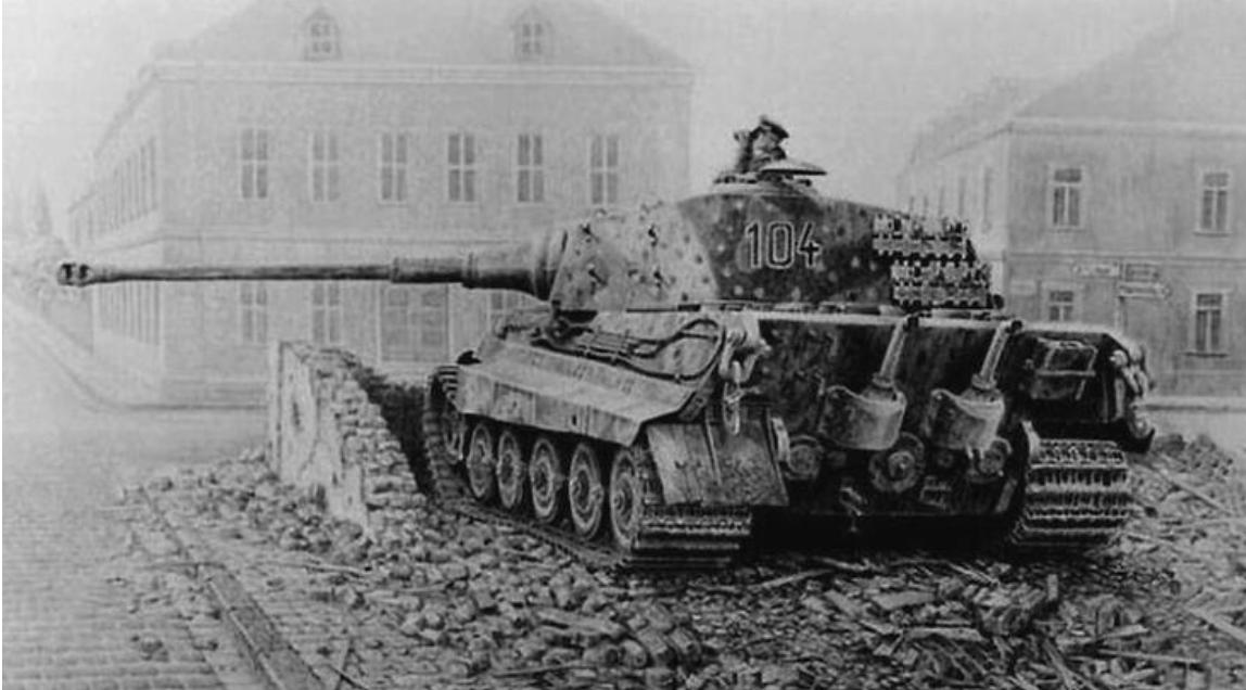 "Немачки тешки тенк Panzerkampfwagen VI Ausf. B, Tiger II / Königstiger ""Краљевски тигар"""