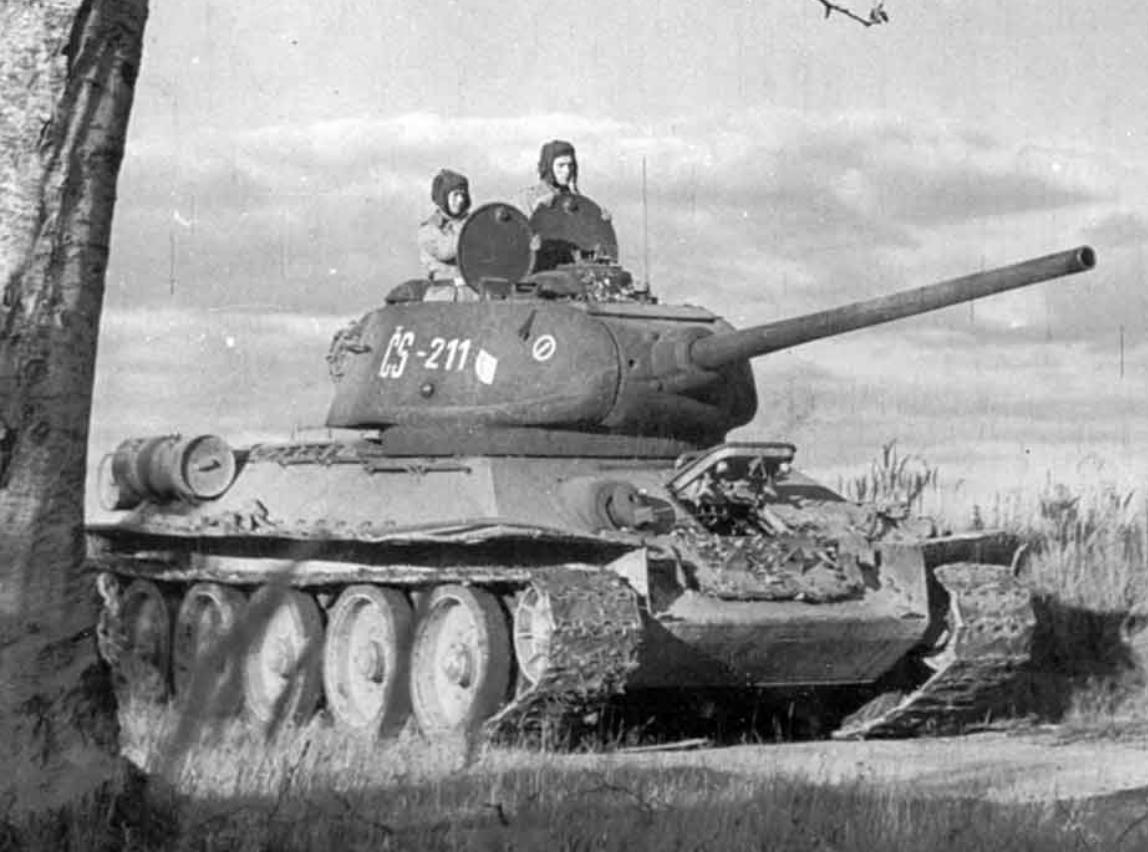 Совјетски средњи тенк Т-34-85