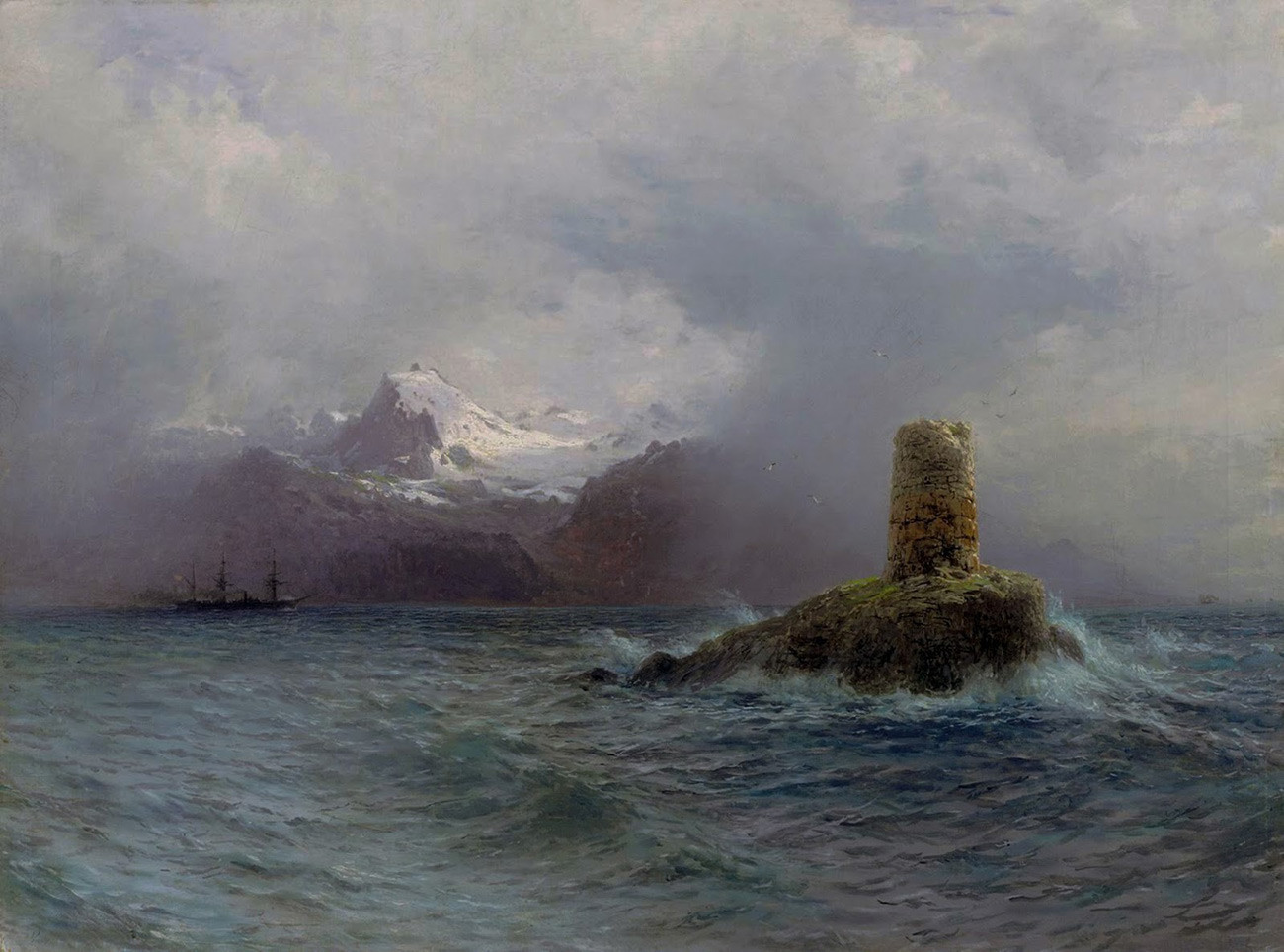 Lev Lagorio. Île des Lofoten (1895)