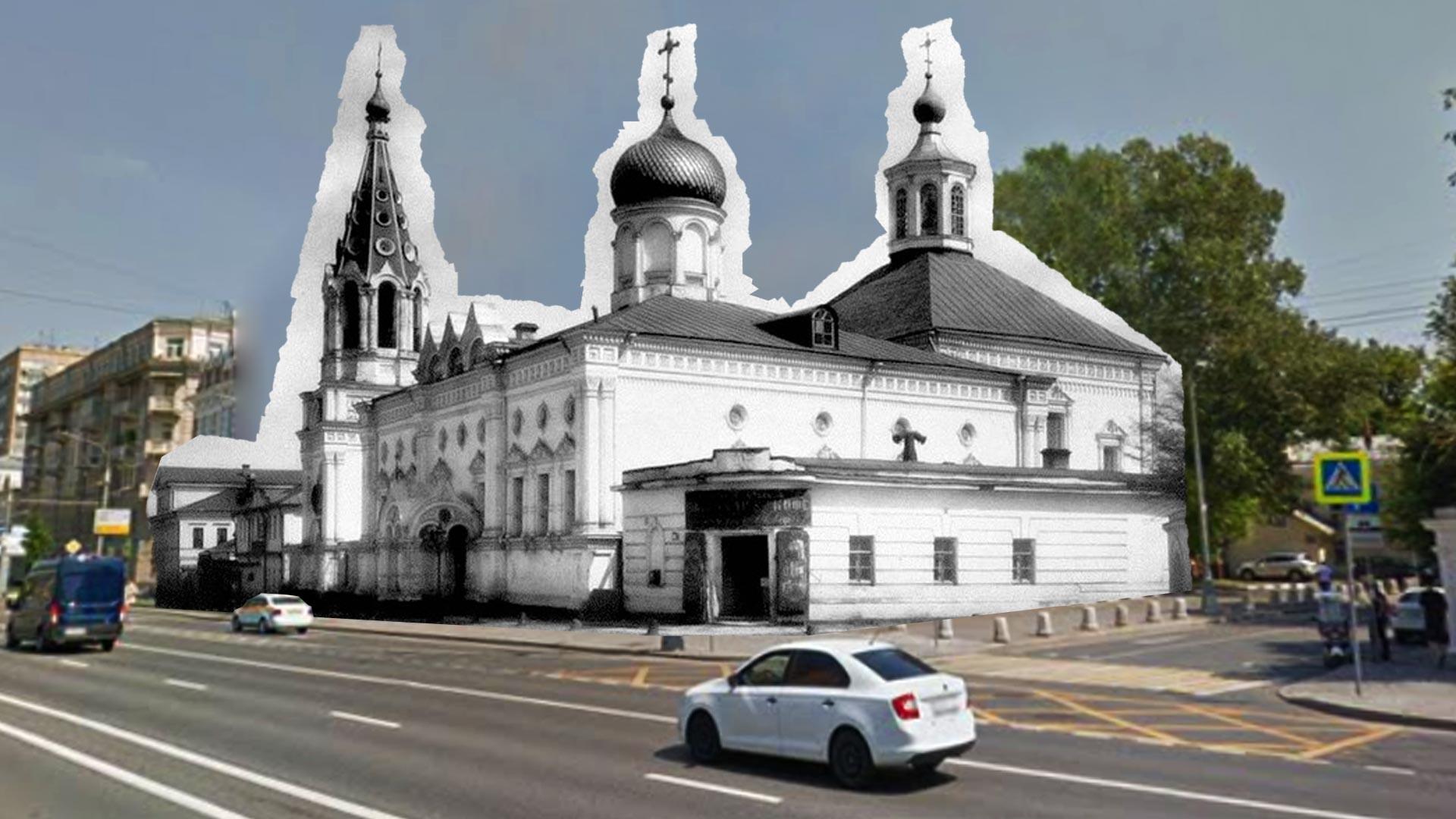 Church of Peter and Paul in Yakimanka