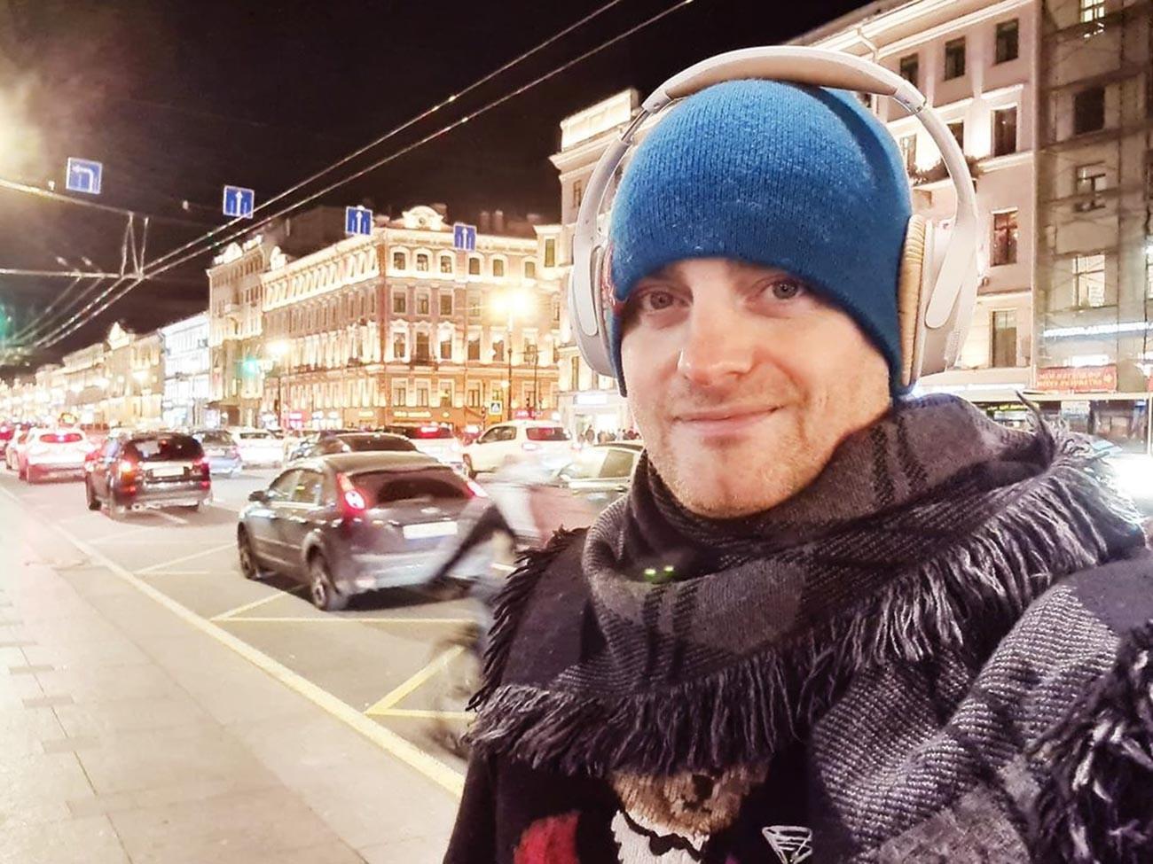 Крэйг Эштон в Петербурге