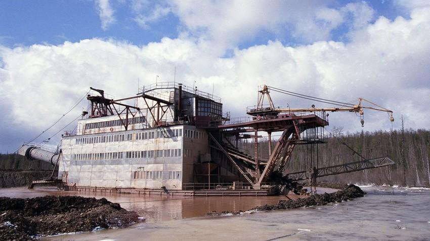 Pridobivanje zlata na Krasnojarskem ozemlju