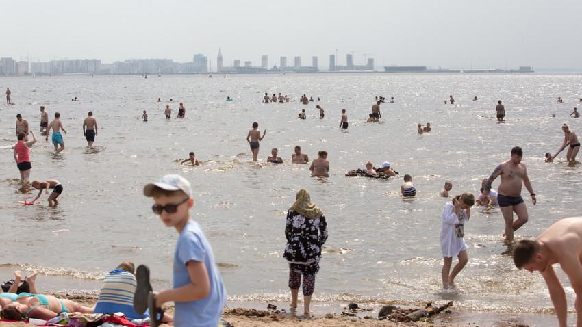 Vročinski val v Sankt Peterburgu, junij 2021