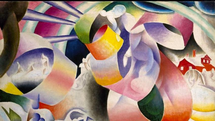 Wladimir Baranoff-Rossine, Norwegian Rhapsody, 1915