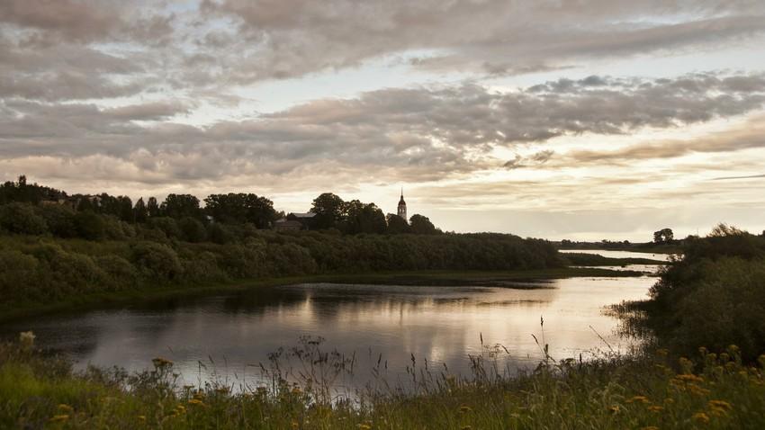 Reka Suhona, Vologodska regija