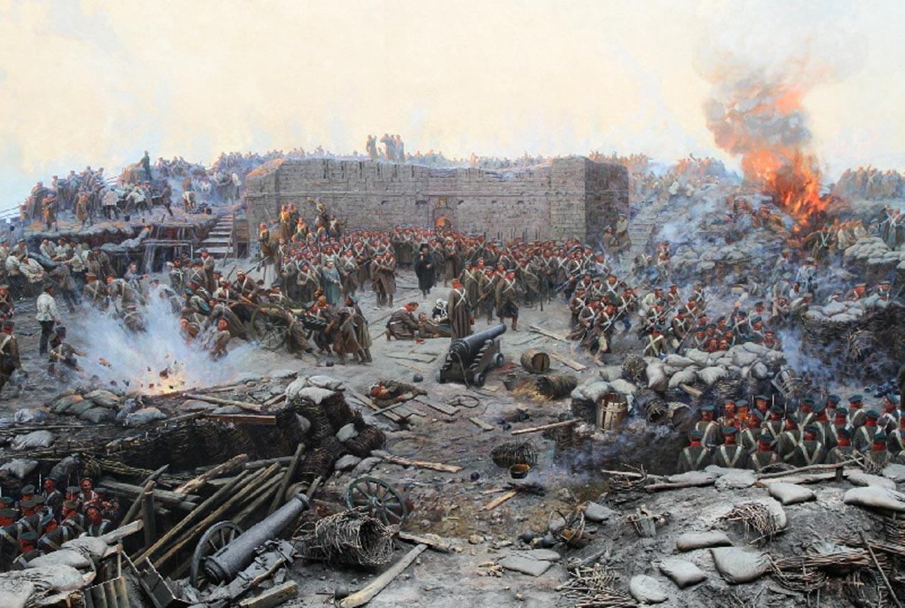 Verteidigung von Sewastopol.