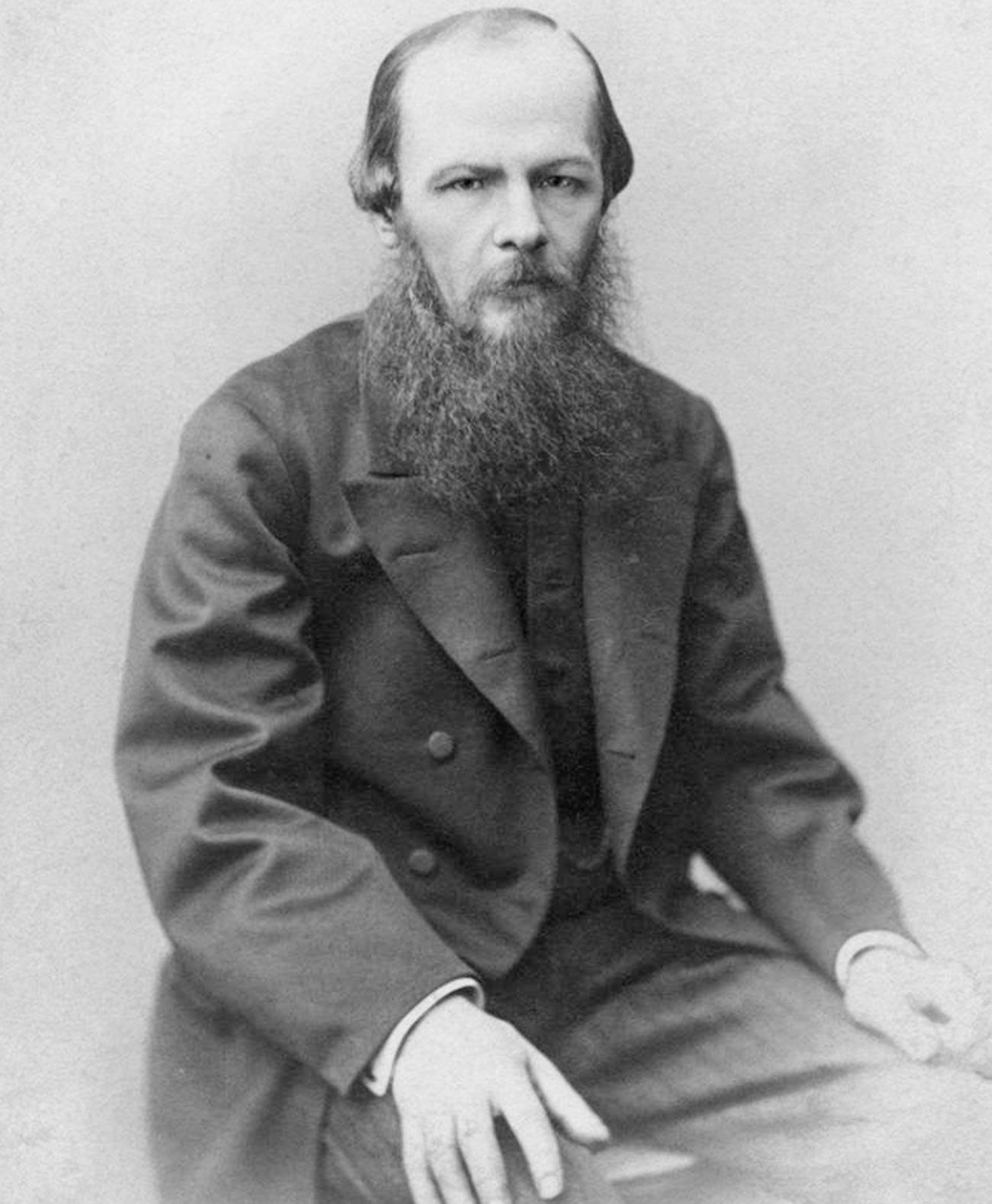 F.M. Dostojevski. 1872