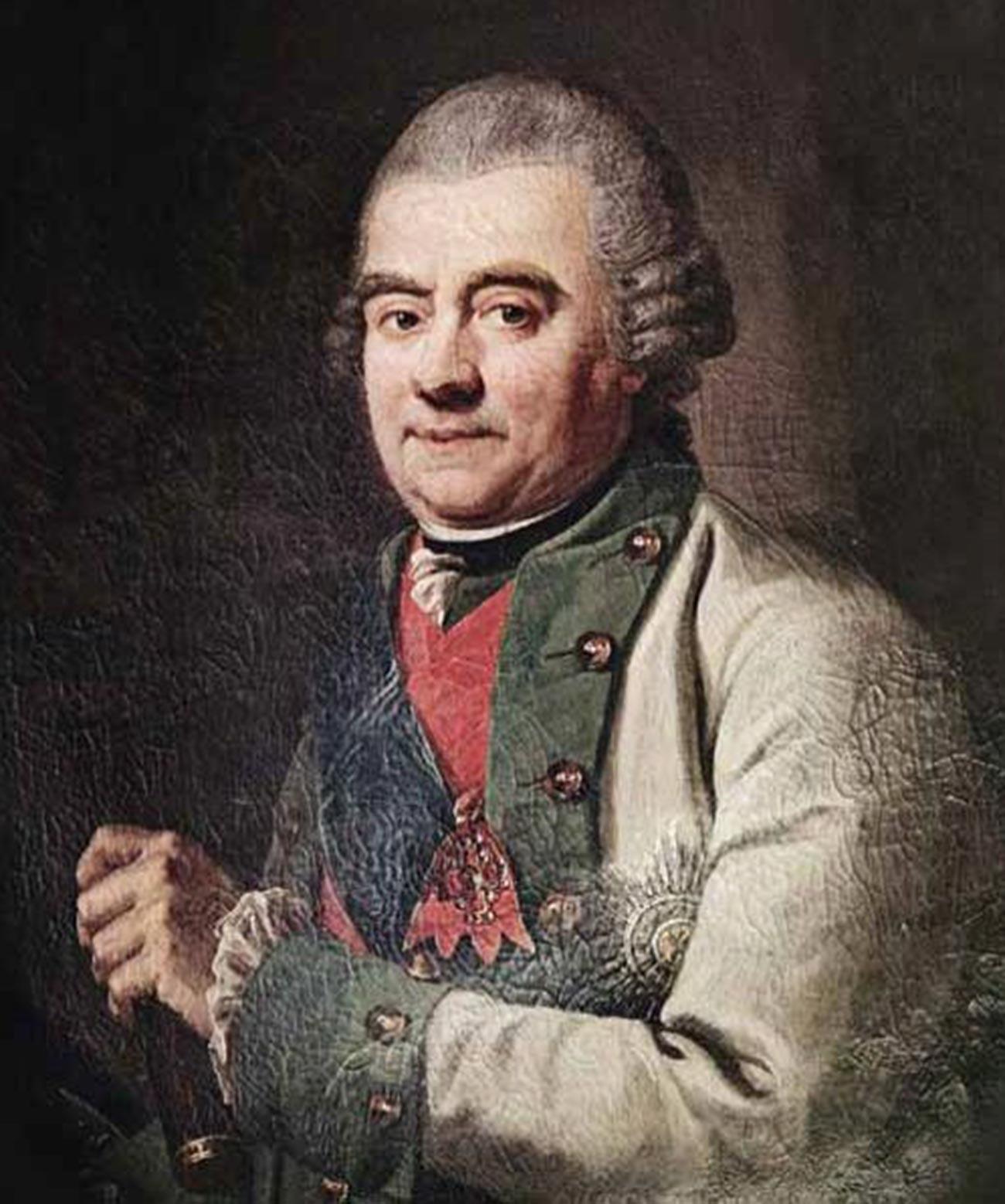 Адмирал Григорий Андреевич Спиридов.