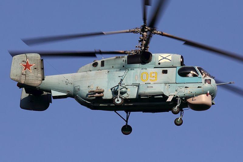 Ejemplar de Ka-27PL
