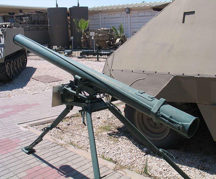 Grad-P en el museo Batey ha-Osef, Tel Aviv, Israel Gracias a estos cañones ZPU-4 creativamente usados, que se lograse defender este importante enclave angolano, rico en recursos naturales, constituyó una advertencia para las pretensiones anexionistas de estados vecinos.