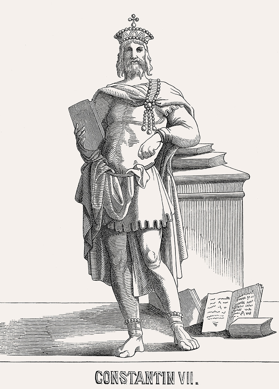 Konstantin VII. Porphyrogenetos.