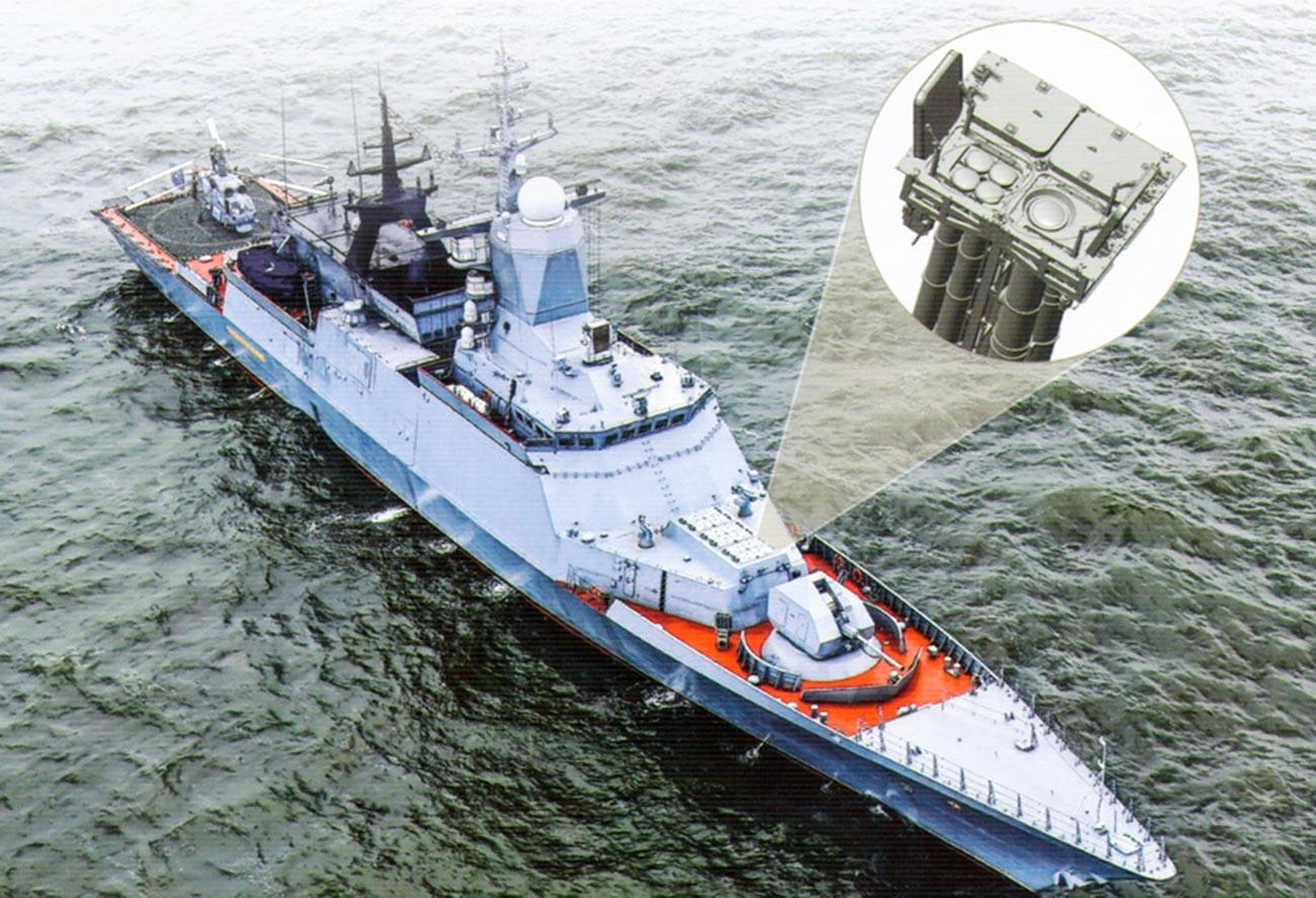 """Ракетни вишеканални ПВО систем """"Ресурс""""."""
