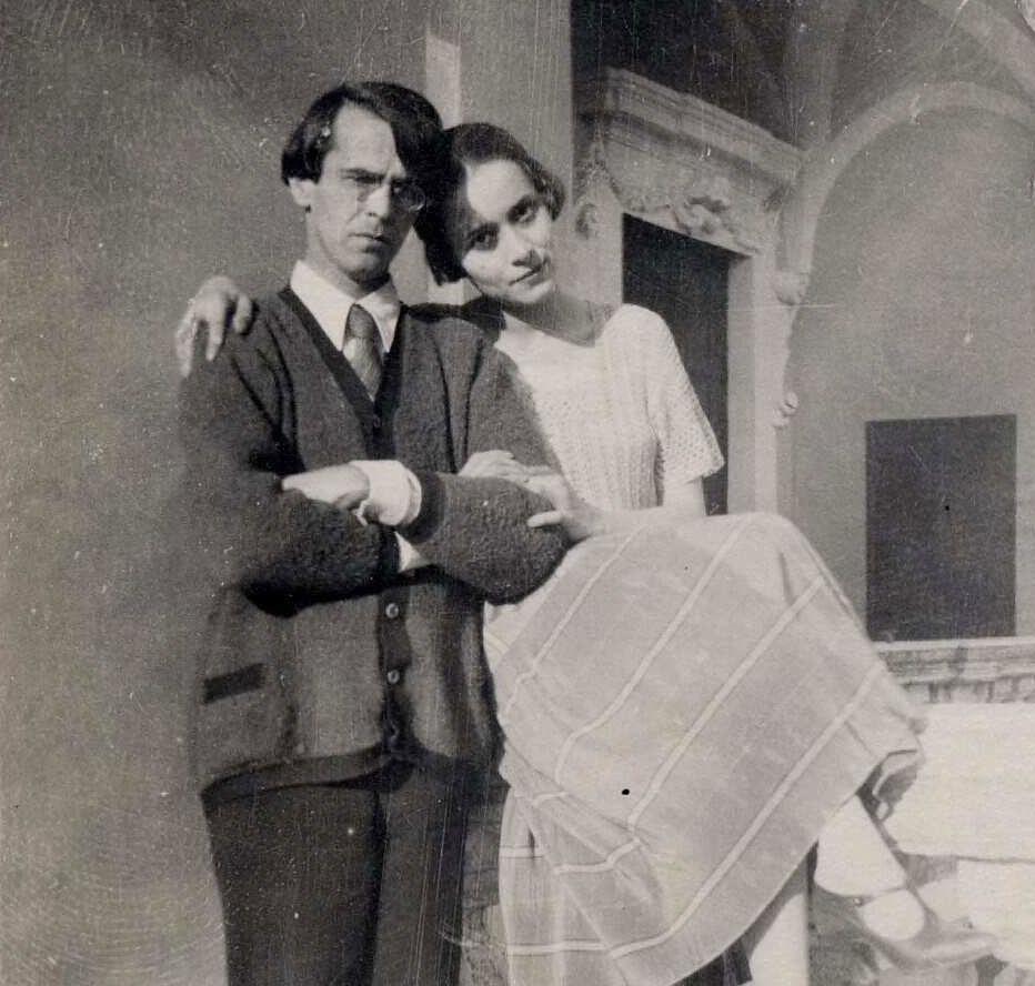 Berberova était la muse du célèbre poète russe Vladislav Khodassevitch