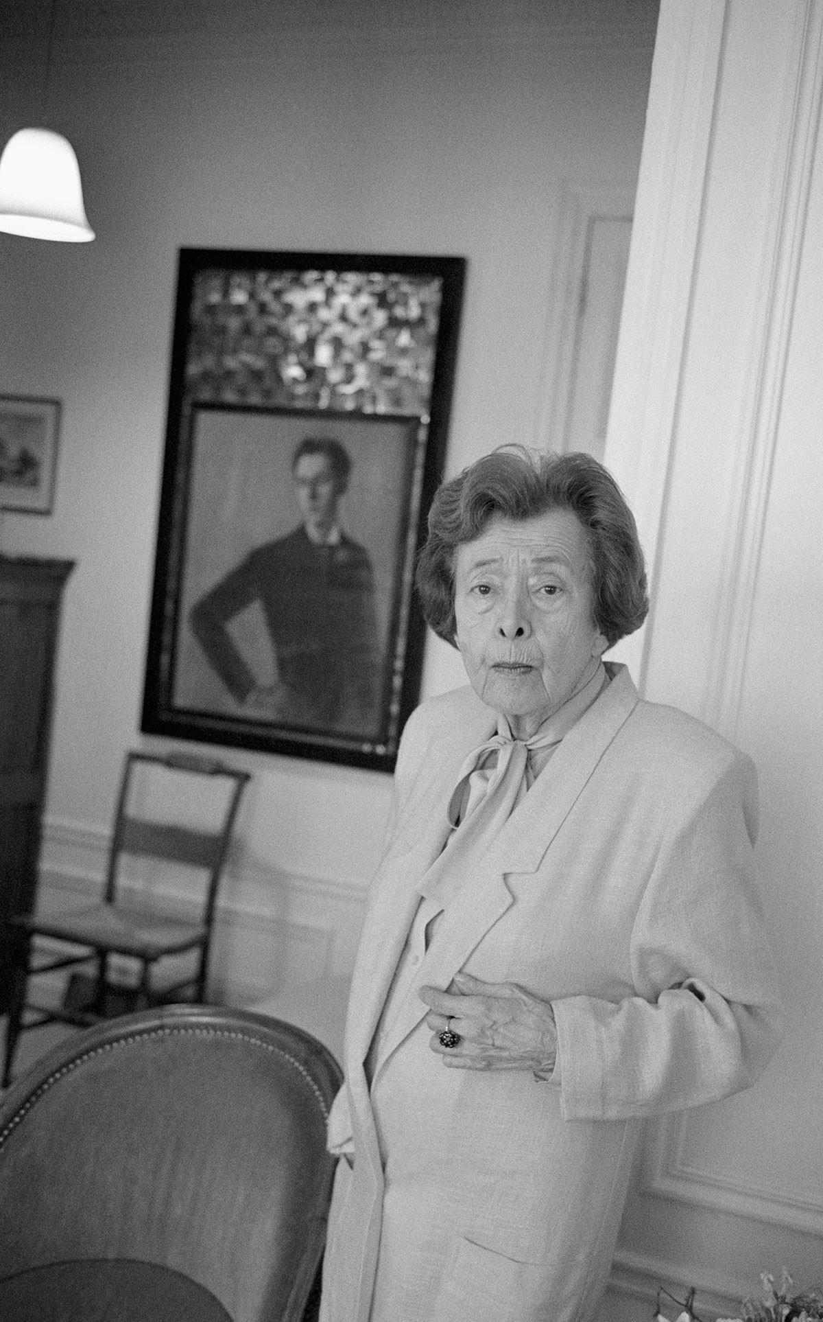 Nina Berberova a élevé plusieurs générations de slavistes.
