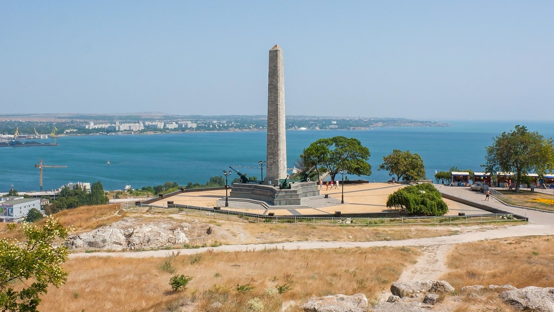 Obelisk of Glory on Mount Mithridat in Kerch.