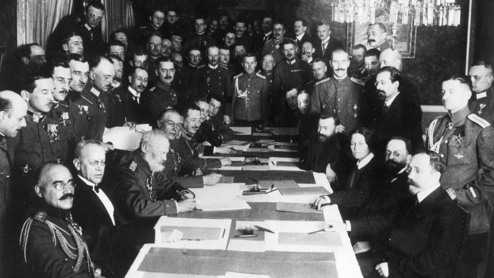 Perjanjian Brest-Litovsk.