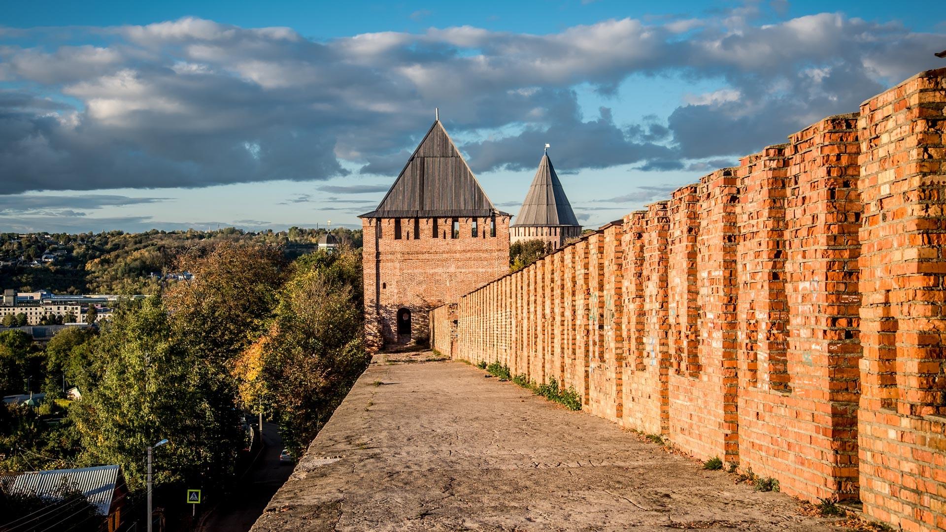 Le mura del cremlino di Smolensk