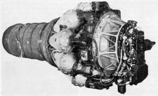 """Motor Rolls Royce Nene, """"inspirador"""" del VK-1 soviético"""
