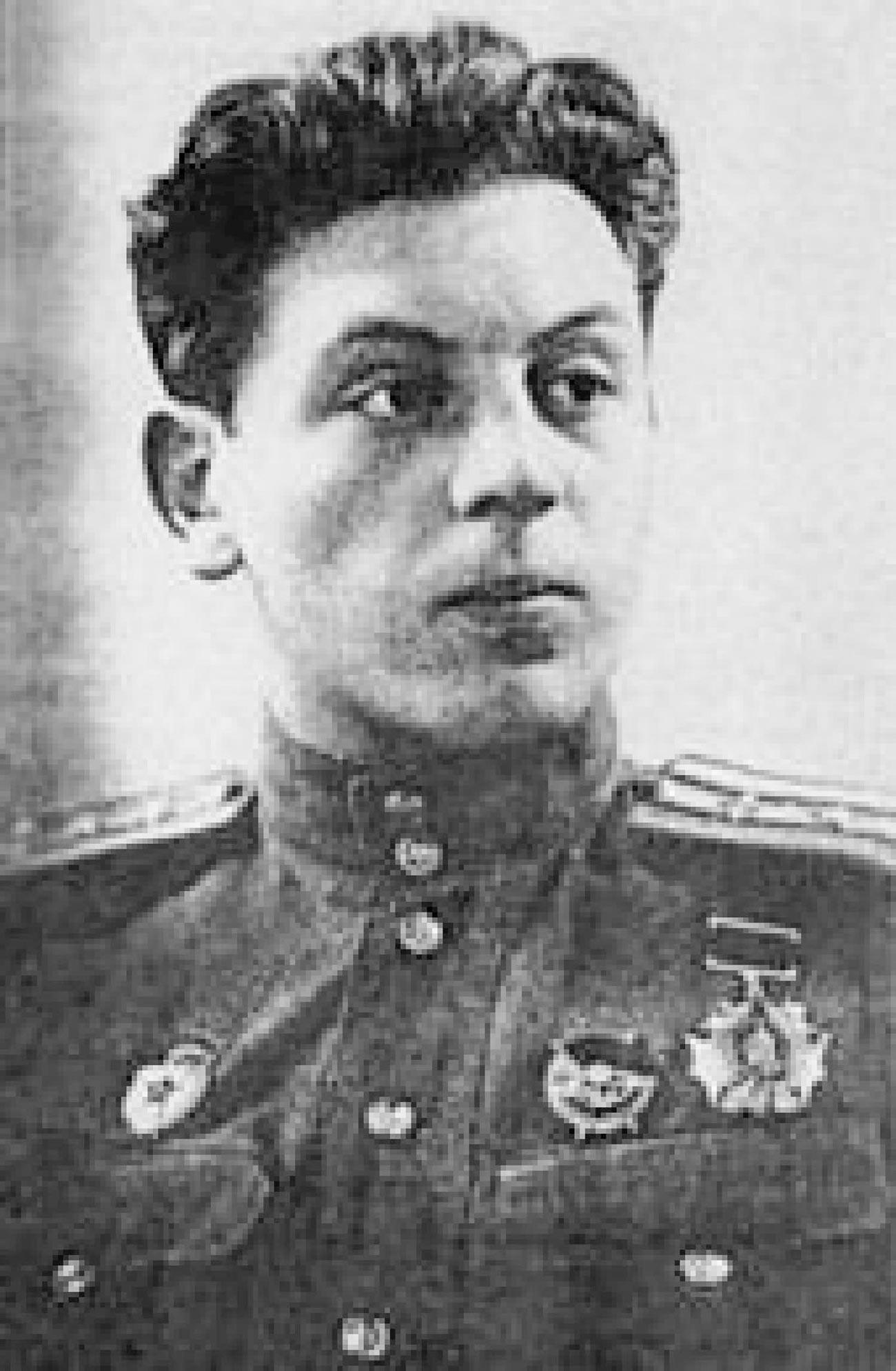 Полковник В.Й. Сталин