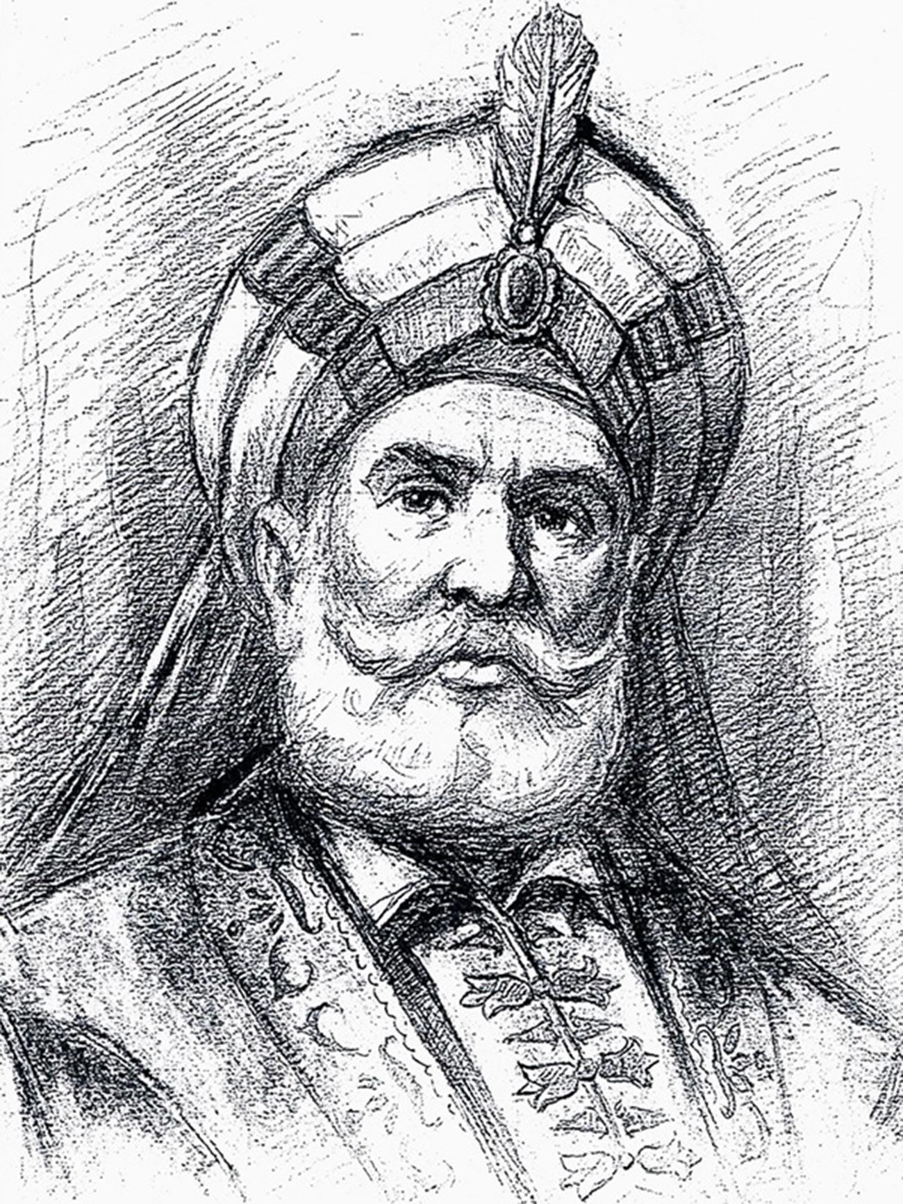 Lo sceicco Zahir al-Umar al-Zaydani