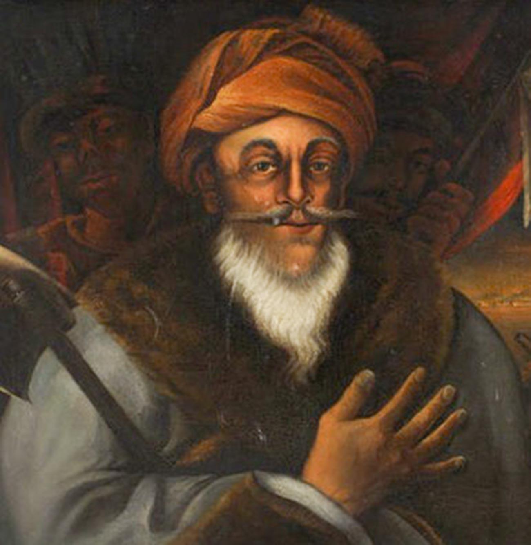 Il comandante ottomano Ahmad Pasha al-Jazzar