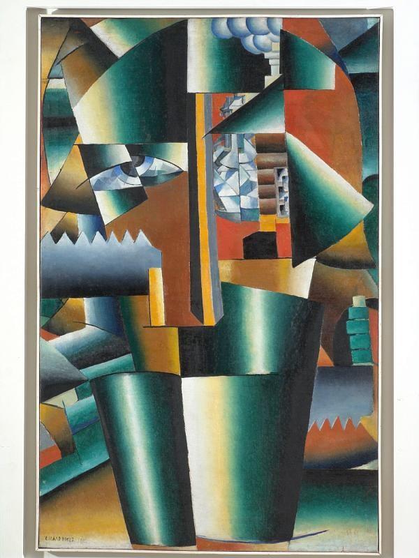 Ritratto di Ivan Kljun di Kazimir Malevich