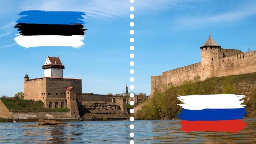 Meja med Rusijo in Estonijo.