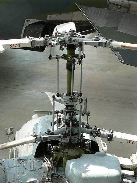 Rotores coaxiales del Ka-26