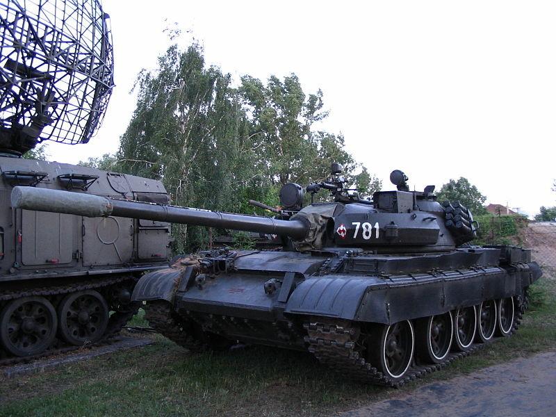 Tanque T-55 Merida polaco.