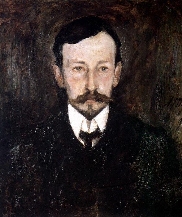 Portrait d'Ivan Bounine par Leonard Tourjanski