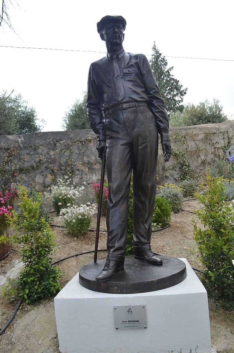 Monument à Bounine à Grasse