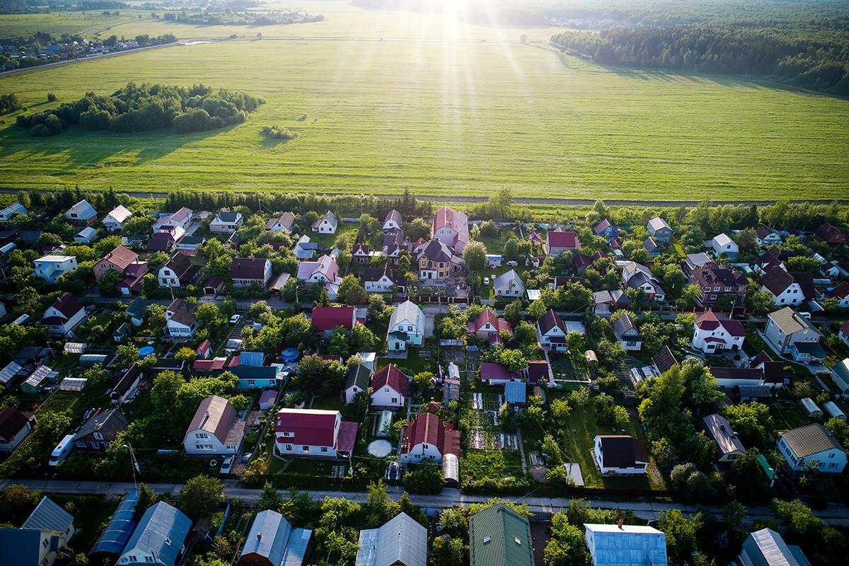 Zasebne hiše v Moskovski regiji