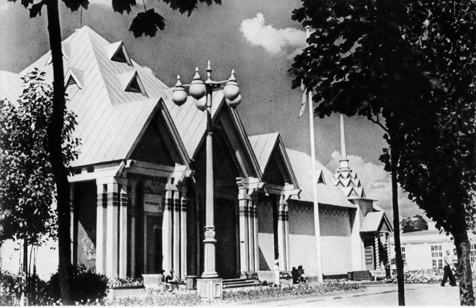 Pavillon von Woronesch, Kursk und Tambow.