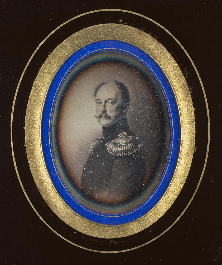 Портрет на Николай I от Франц Крюгер