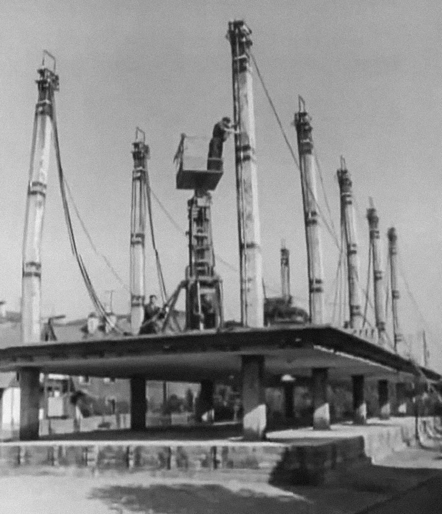 L'installazione del tetto