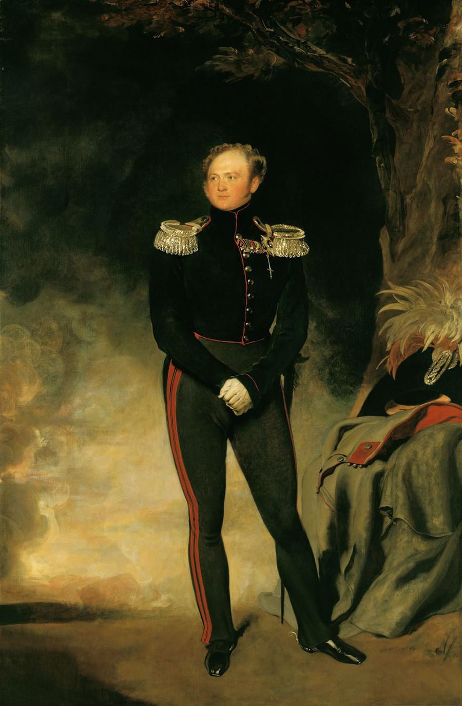 Portret Aleksandra I., ruskega cesarja, Thomas Lawrenc